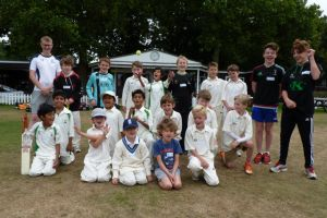 Kew CC Summer Camp August 1 - 4, 2016 - Day 1