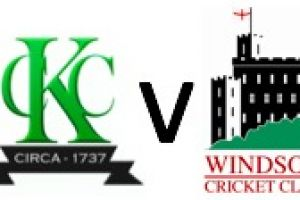 Kew 1st XI vs Windsor CC - 6th May 2017