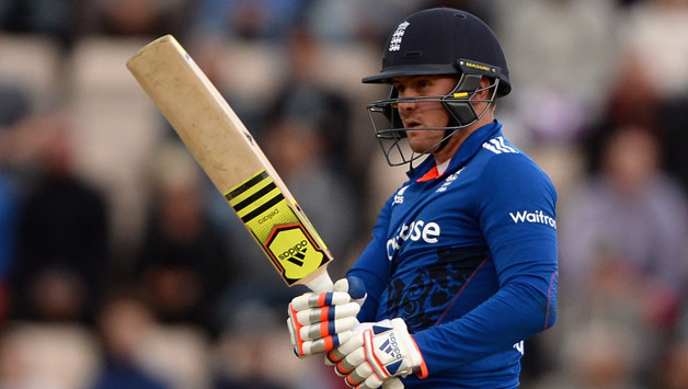 Jason Roy of England bats1